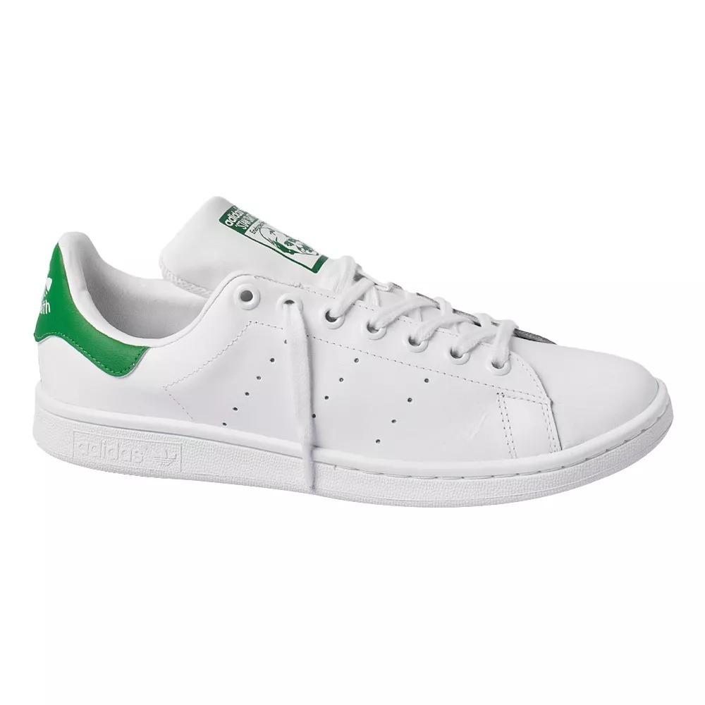 ac12e341d9 tenis adidas stan smith verde original com nota fiscal. Carregando zoom.