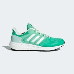 Tenis Adidas Supernova ST Verde y Blanco
