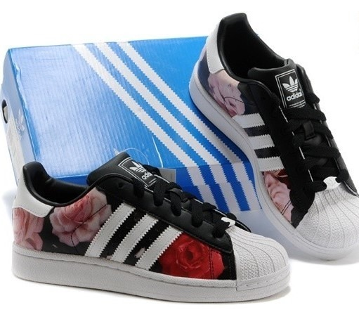 sports shoes 4e74b 97353 tenis adidas superstar 2 rouge rose - mujer
