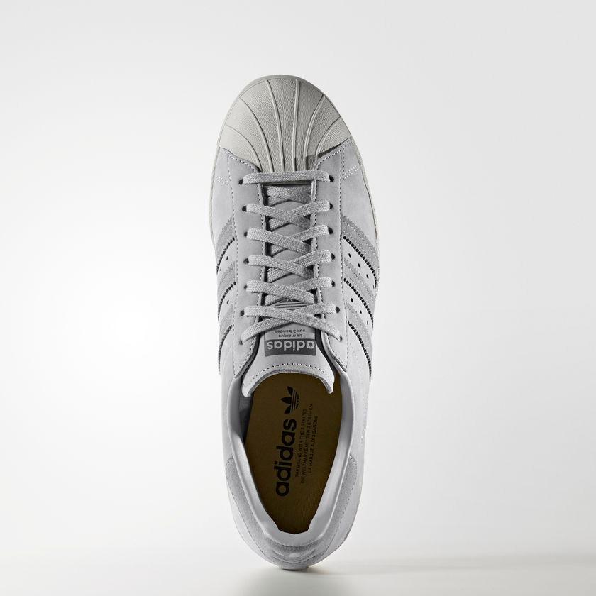3b476d37f71 tenis adidas superstar 80s cinza - original. Carregando zoom.