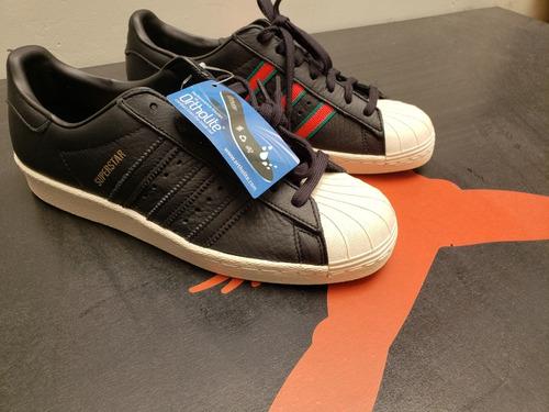 tenis adidas superstar 80's, talla 26, nuevos en caja