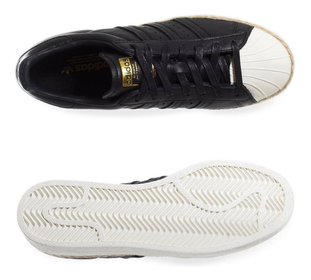 Tenis adidas Superstar 80's W - Cq2365 - Negro - Mujer