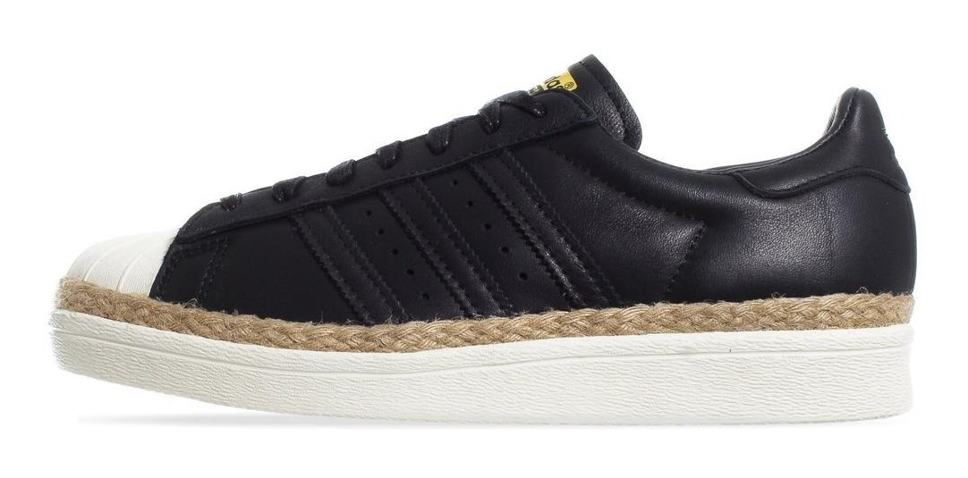 Tenis Adidas Superstar 80s W CQ2365 Negro Mujer spare mehr