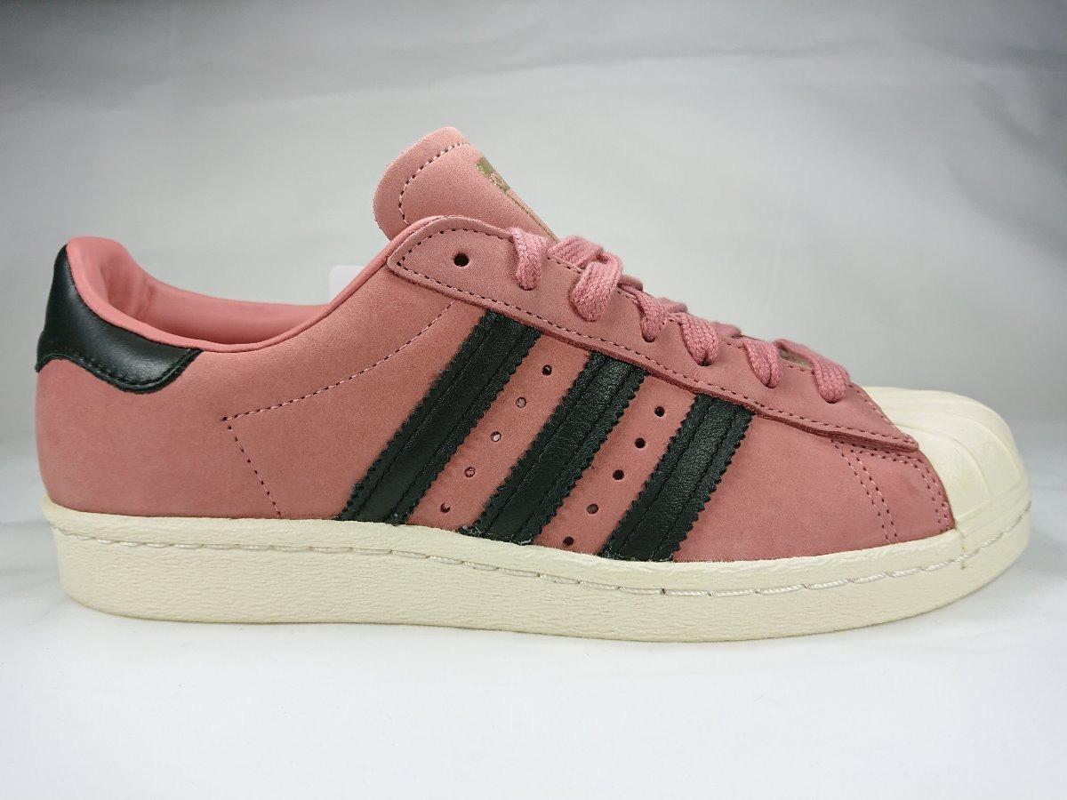 c4a2d114a ... netherlands tenis adidas superstar 80s w en piel rosa dama cq2513.  cargando zoom. 40fe9