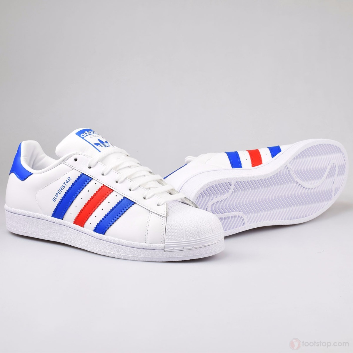 Concha Envió Gratis Adidas Multicolor Tenis Blanco Superstar wWU8IS