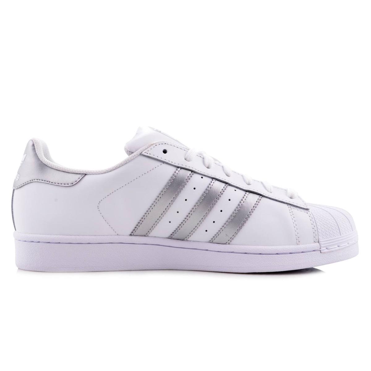 2c1e648e204 germany adidas blanco zapatos de moda superstar afb5f 6c90e  ireland tenis adidas  superstar blanco plateado 6.5. cargando zoom. 94460 4c724