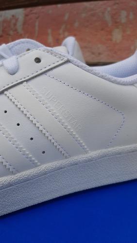 tenis adidas superstar blancos