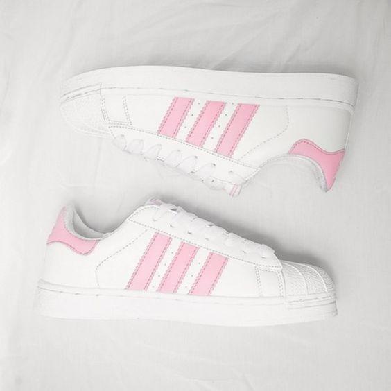 adidas superstar rosa pastel