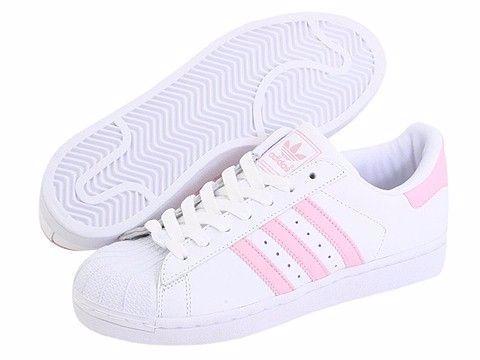 adidas blanco con rosa