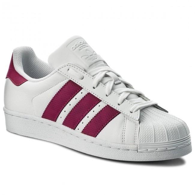 9640ae576 Tenis adidas Superstar Blco rosa