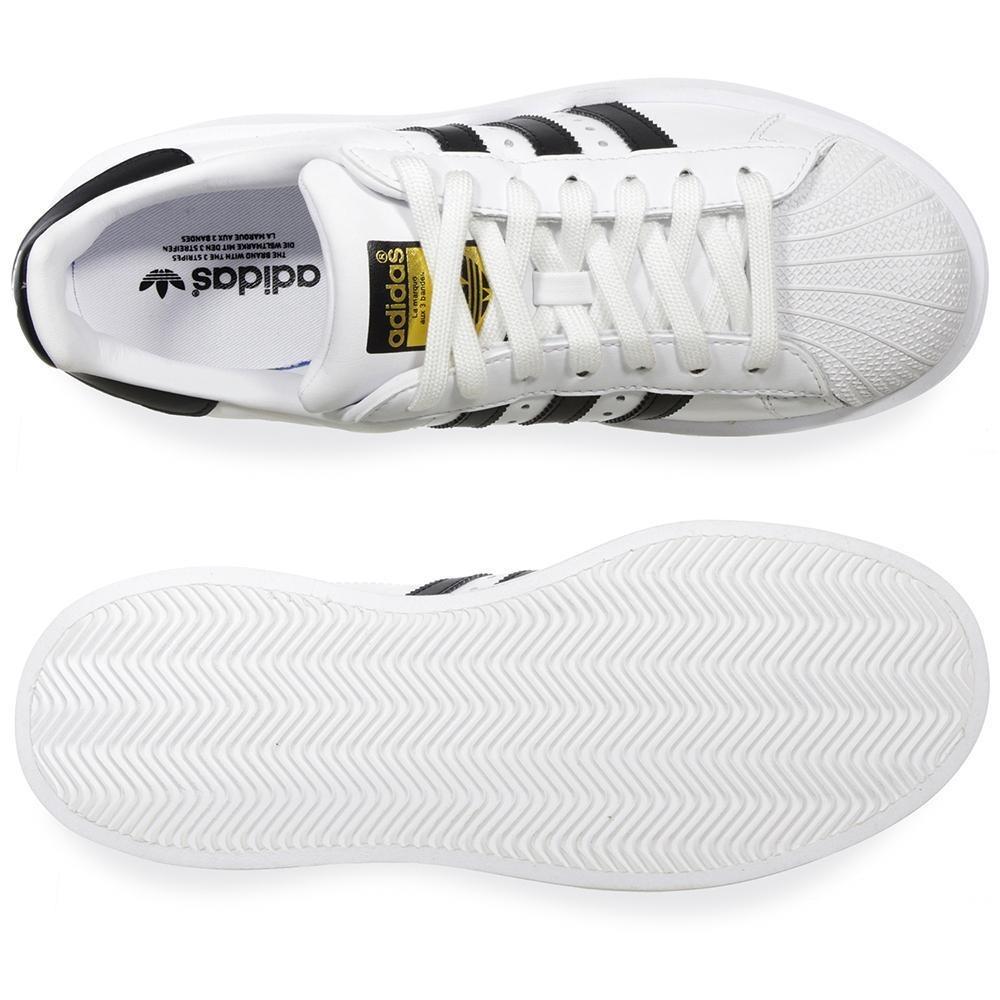 Tenis adidas Superstar Bold - Ba7666 - Blanco - Mujer