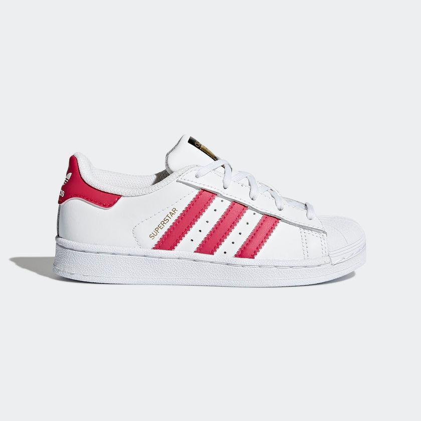 e0b901ecb tenis adidas superstar branco com rosa - frete grátis. Carregando zoom.