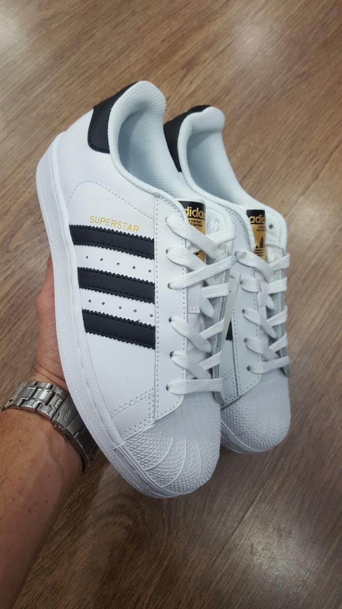 bas prix af26a 7da53 Tenis adidas Superstar Classic Blancas Originales