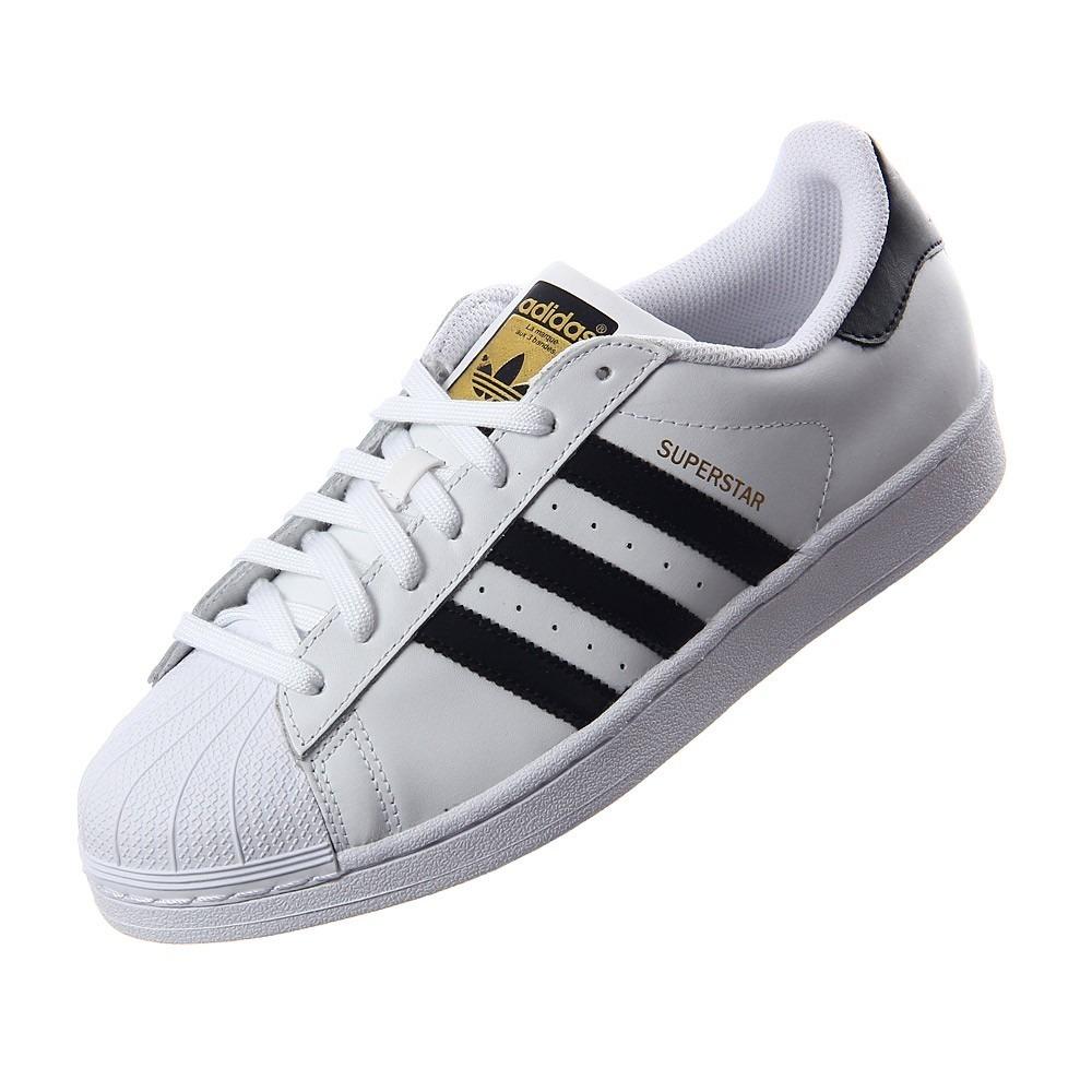 f0d73494e86 ... spain tenis adidas superstar concha blanco con negro original. cargando  zoom. 9d975 b4a2f