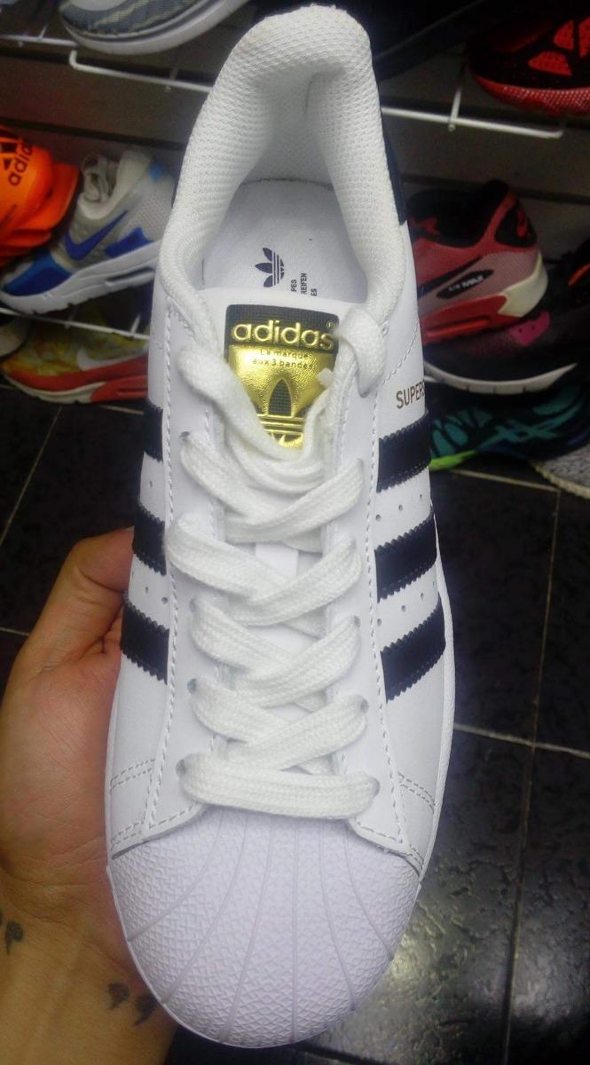 online store ac0dc e266b tenis adidas superstar concha blanco con negro original. Cargando zoom.