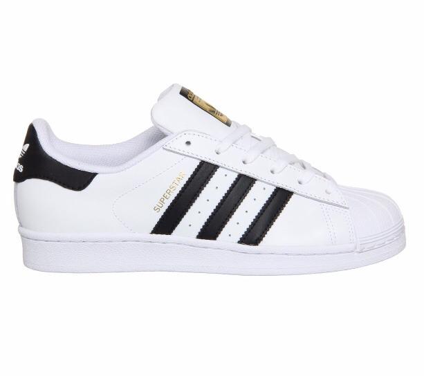 1 399 Negras Qrrxvd Líneas Blanco 00 En Superstar Adidas Tenis Concha xZHqBOnXtw