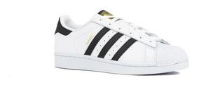 Tenis adidas Superstar Concha Blanconegro C77124 Ad0444