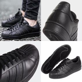 Conchas Negras Adidas Mujer Tenis Deportivos Ropa, Bolsas
