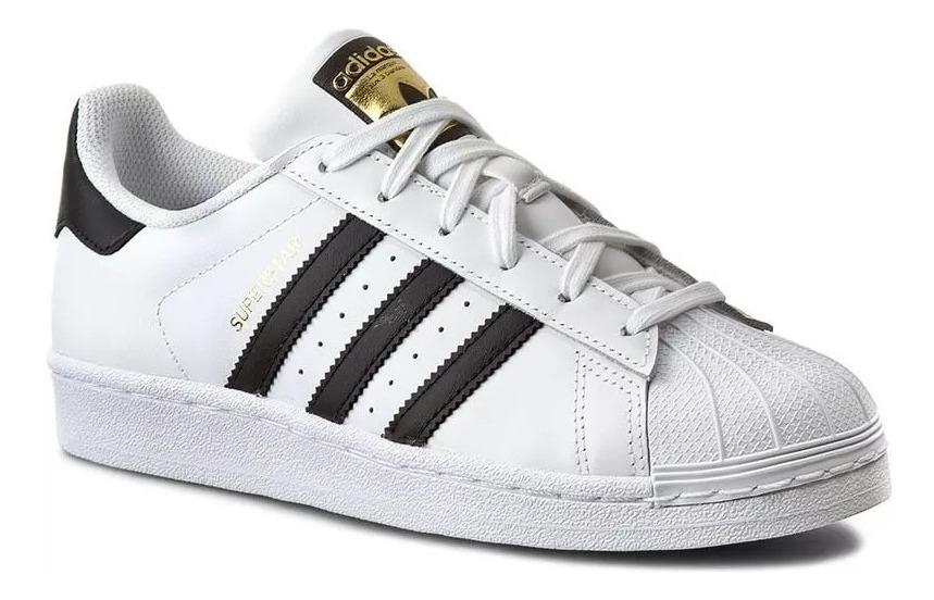2019 Nuevo & Joven | Adidas Superstar Zapatillas de piel