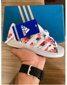 897713f8678 Tênis adidas Superstar New Slip Cinza E Preto. Minas Gerais · Tenis adidas  Superstar Florido Floral Branco Feminino