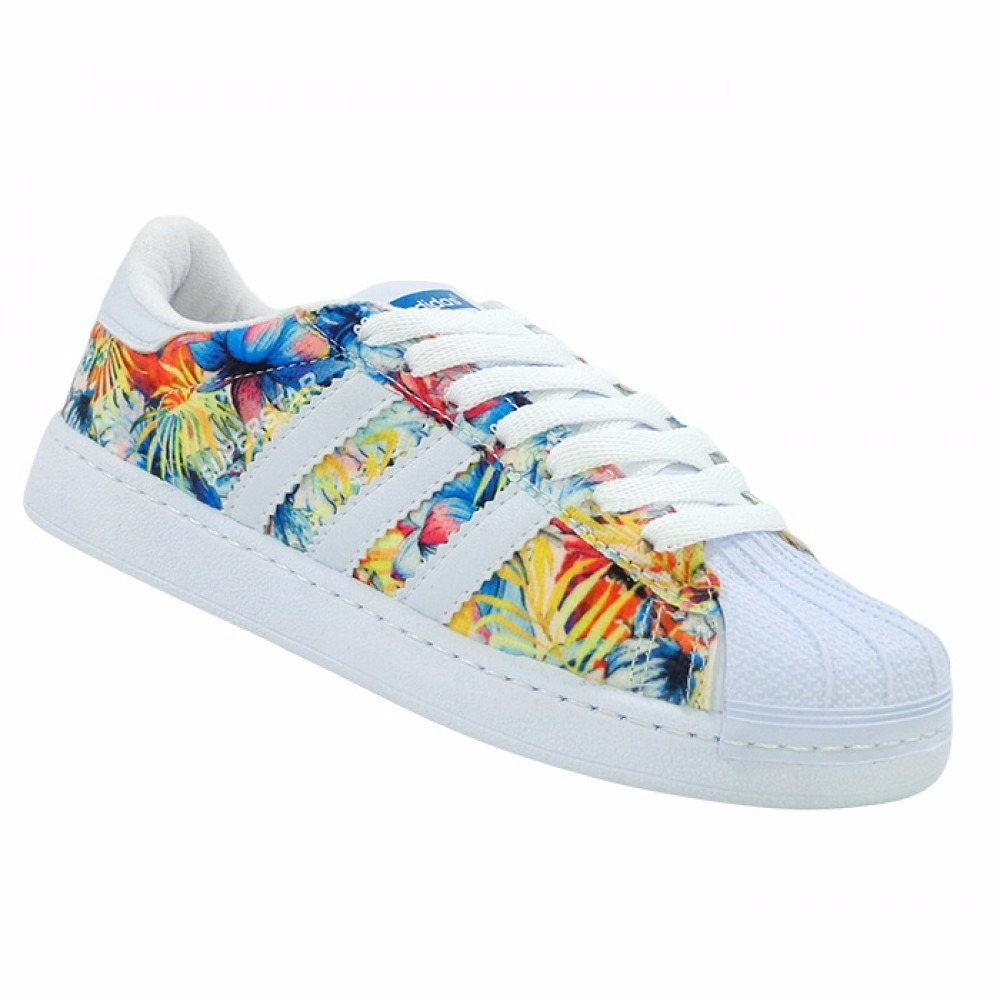 best service f8a75 01ea9 adidas superstar floral