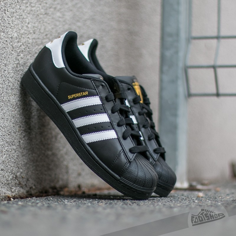 more photos 2d5b1 9cc9f Tenis adidas Superstar Foundation Black Casuales Retro -   1,599.00 ... adidas  superstar foundation