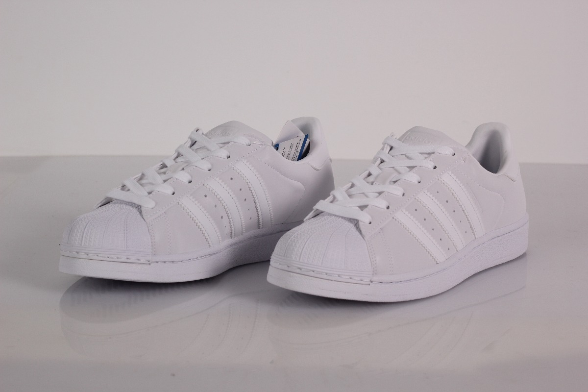 ce790f930f tenis adidas superstar foundation white white refletivo. Carregando zoom.