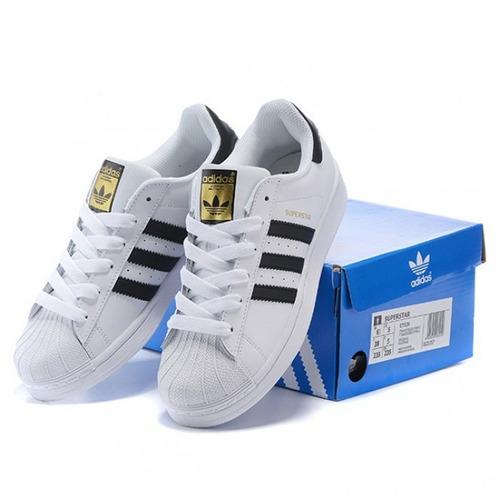 Superstar Gold Originales Nuevos En Su Adidas Caja Tenis qSpUzVM