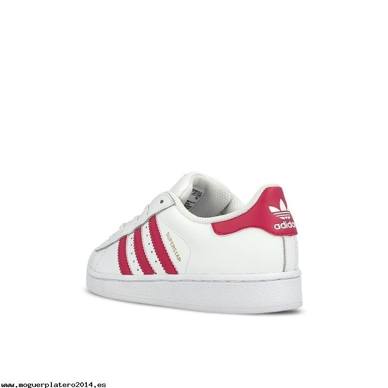 359c65e2104 tenis adidas superstar infantil blanco rosa18-22 original zx. Cargando zoom.