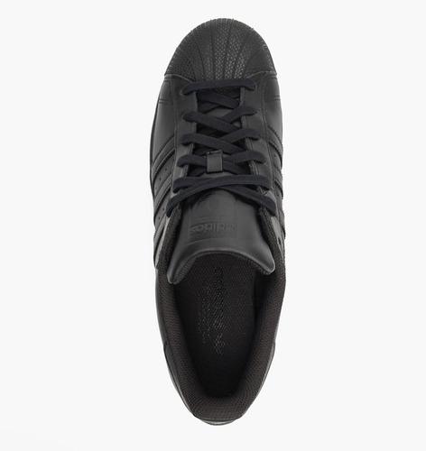 Tenis adidas Superstar Monoblack Talla #25 Hombre Psd
