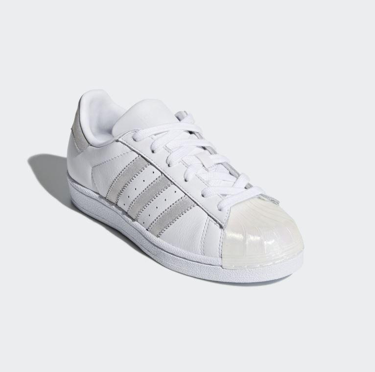 separation shoes c26eb 14ac5 tenis adidas superstar mujer concha cómodo casual original