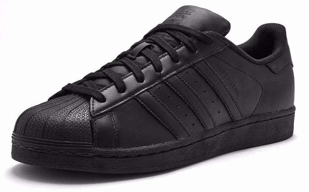 detailed pictures 604bd c6f4f ... adidas superstar en negro
