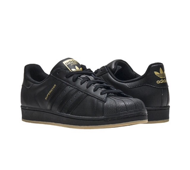 575d0095351 Tenis adidas Superstar Negro - Msi - Piel  29 Cm  Mx C  Caja ...