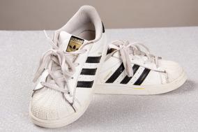 imagenes de zapatos adidas superstar usado