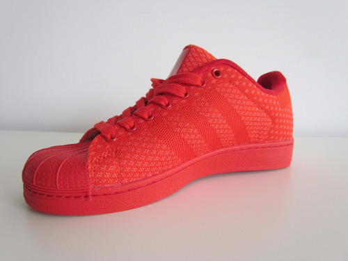 tenis superstar rojos