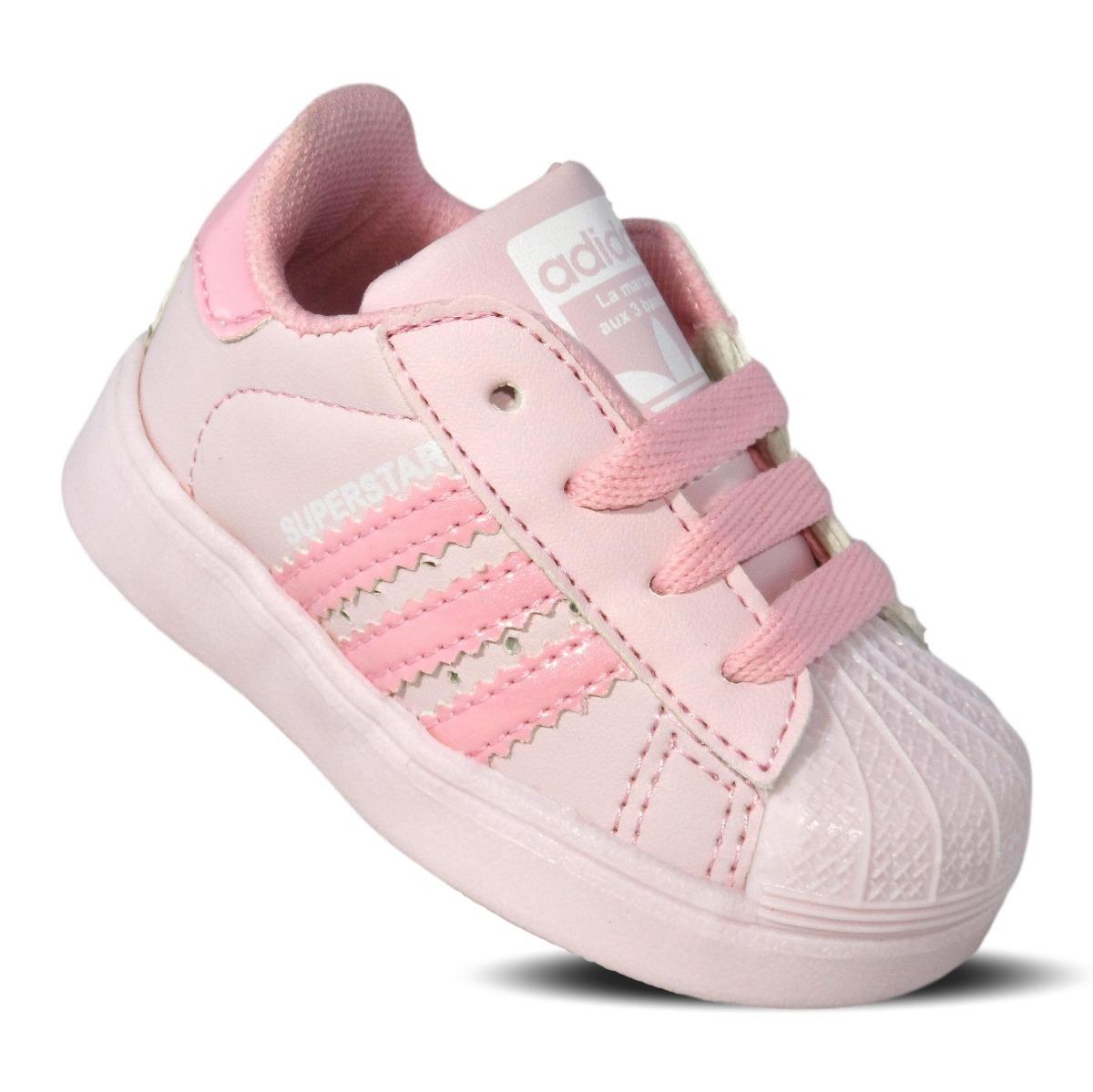 adidas superstar rosa niña