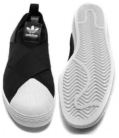 Tenis adidas Superstar Slip On Original Elastico Famosas - R  249 c0160b7e2dda0