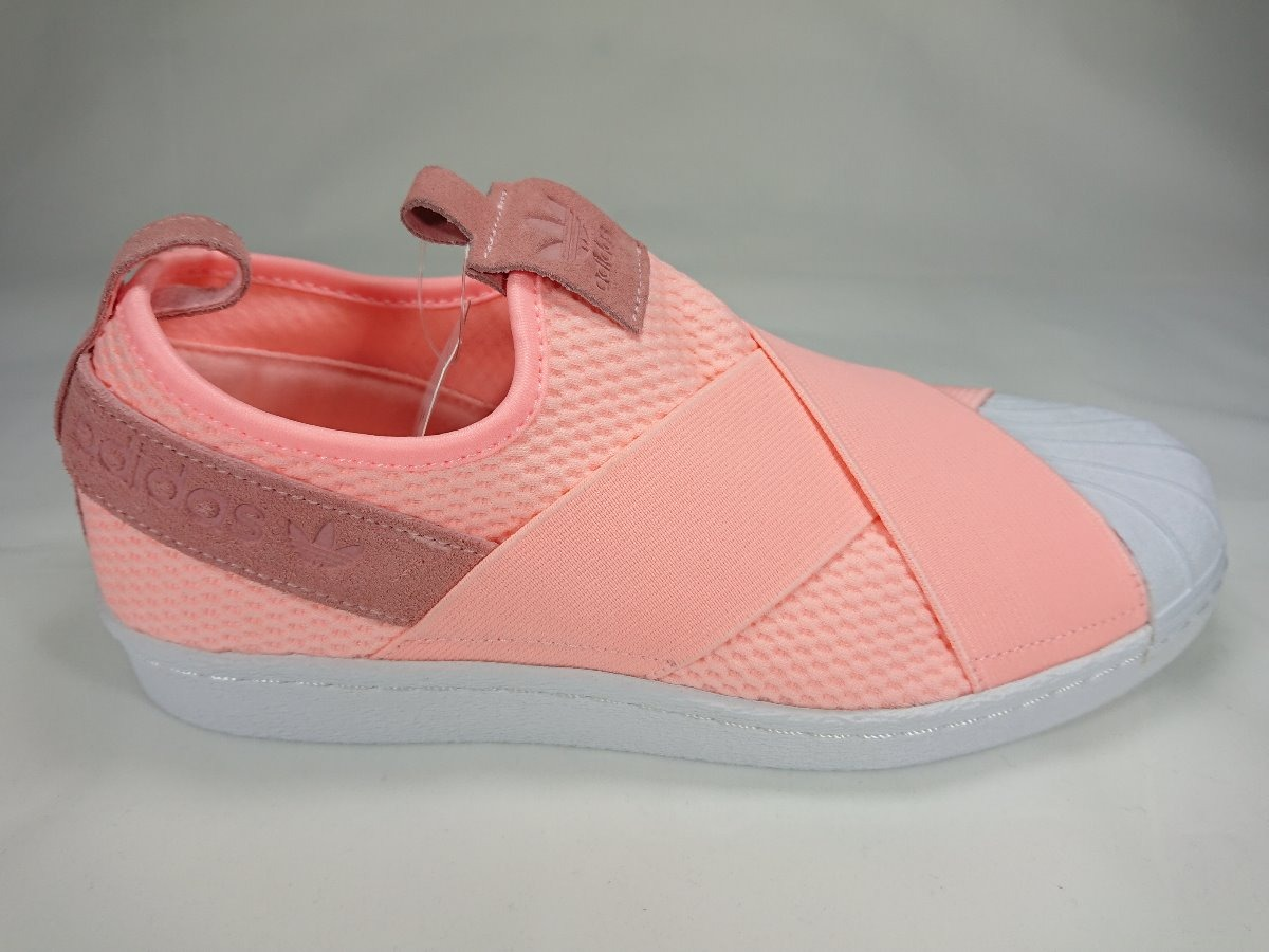 the latest 34ce6 2fac9 tenis adidas superstar slip on w dama color coral (aq0919). Cargando zoom.