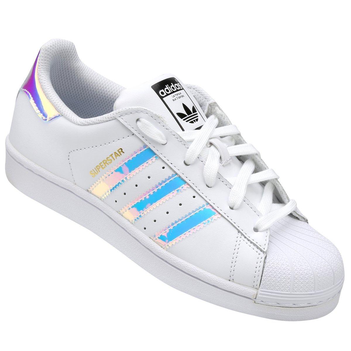 online retailer e9f4b ffe00 Tenis adidas Superstar Tornasol Iridescent Aq6278 Originale