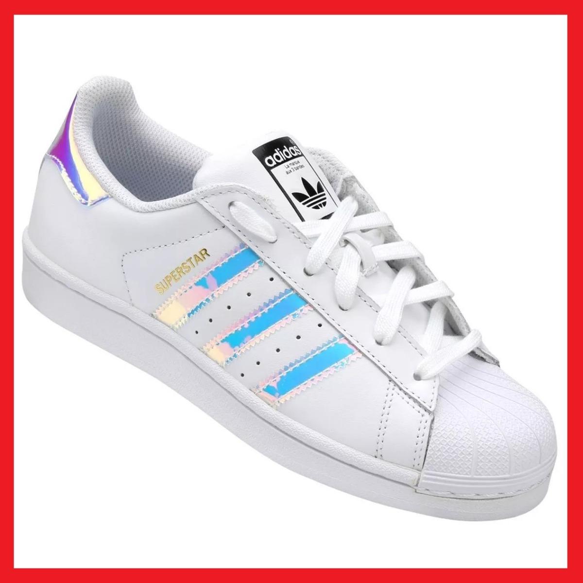 tenis adidas superstar tornasol iridescent con caja enviogra. Cargando zoom. 6f2445f44909a