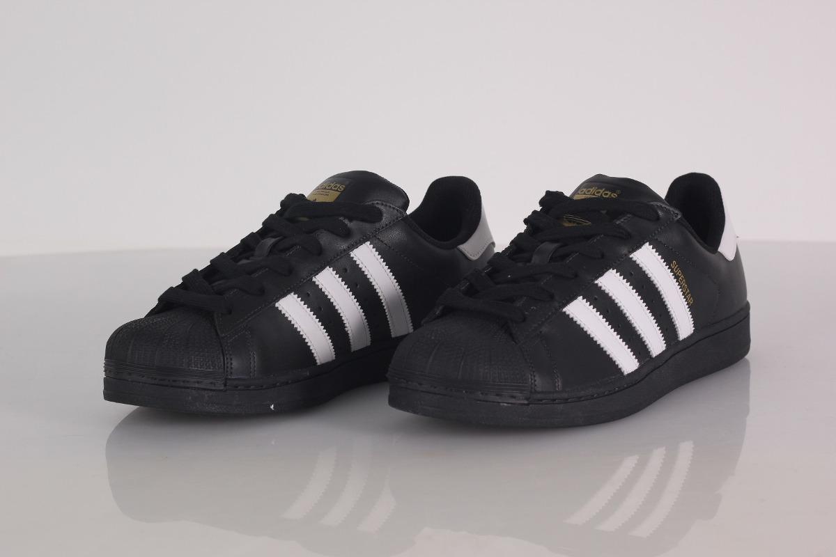 b03ab203585 ténis adidas superstrar foundation preto original com nota. Carregando zoom.