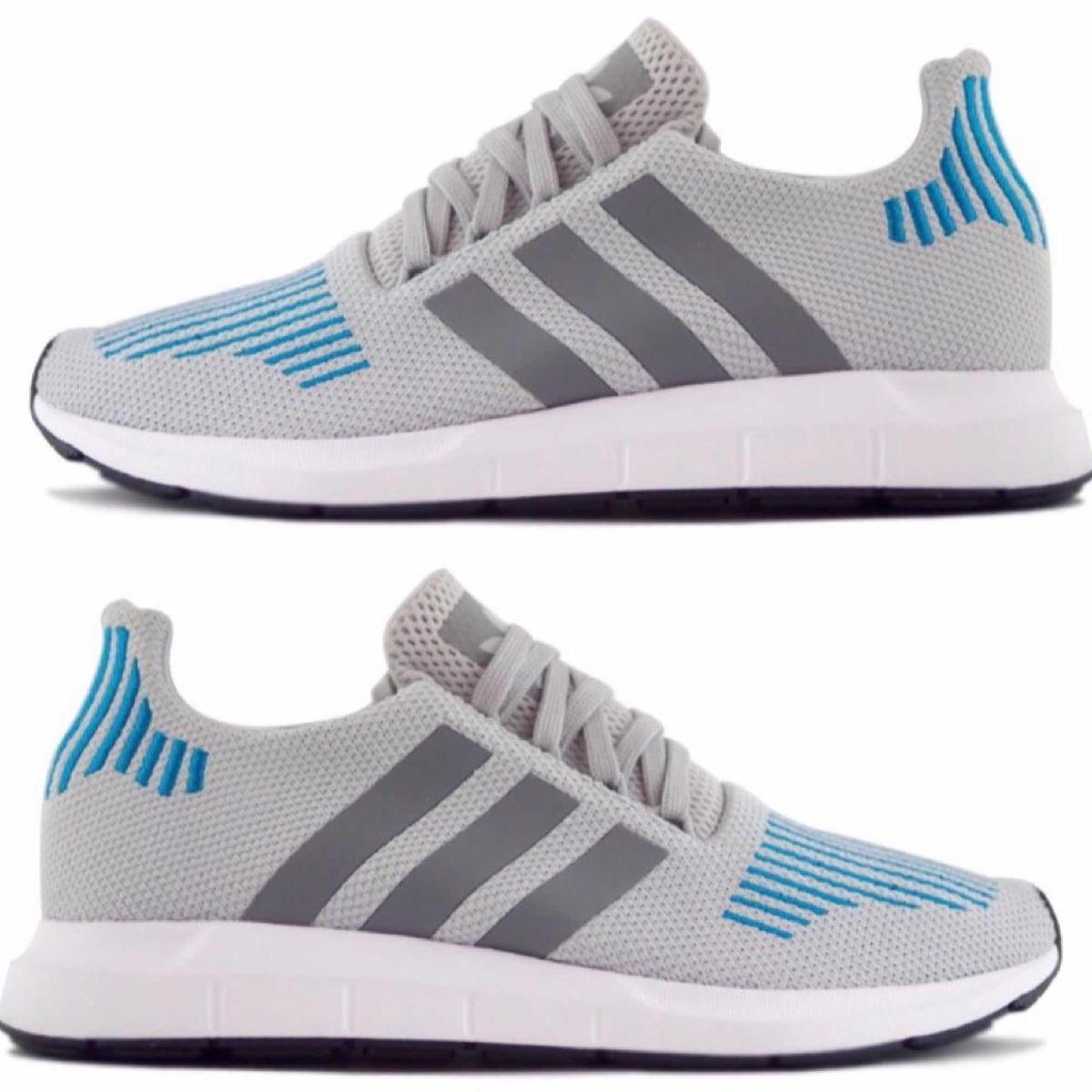 b590c65850 tenis adidas swift run gris azul  8   incluye caja original. Cargando zoom.