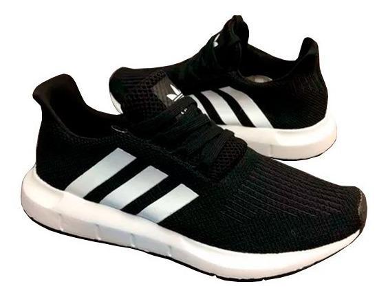 zapatos adidas de mujer negro