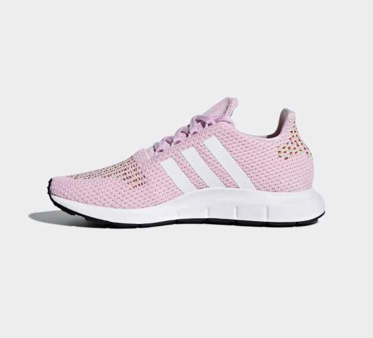 87e898df0a Tenis adidas Swift Run Rosa Pastel    4.5 Mx   En Su Caja ...