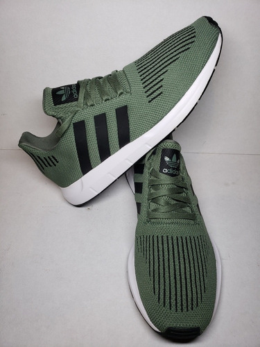 tenis adidas swift run verde militar