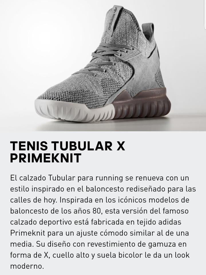 Tenis adidas Tubular X Primeknit, Original + Regalo Sorpresa