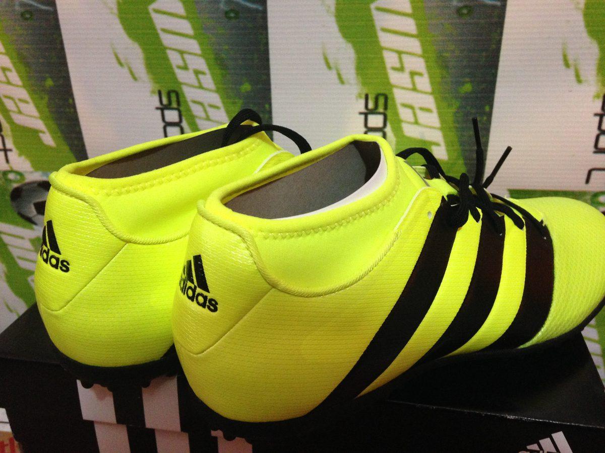 zapatillas adidas verde limon