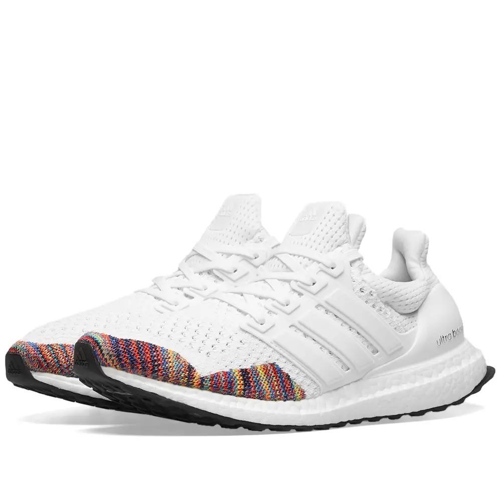 best sneakers b1eda 70c46 tenis adidas ultra boost 1.0 multicolor toe white original. Cargando zoom.