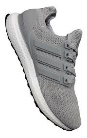 Zapatillas Tenis Hombre Adidas Boost Original Gris Negro
