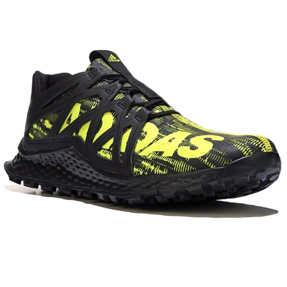 separation shoes 6b82c d97a9 tenis adidas vigor bounce negro amarillo trail running. Cargando zoom.